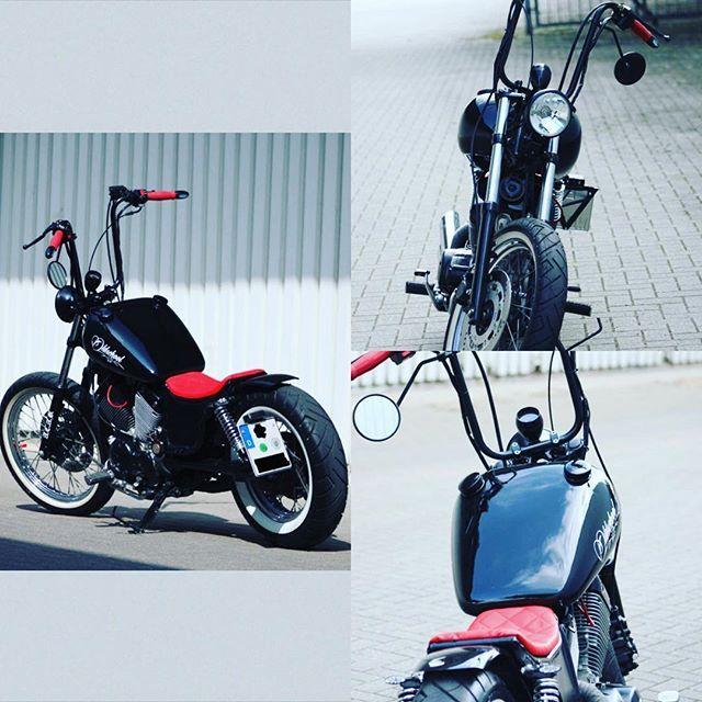 my yamaha xv 535 virago bobber projekt motorcycle. Black Bedroom Furniture Sets. Home Design Ideas