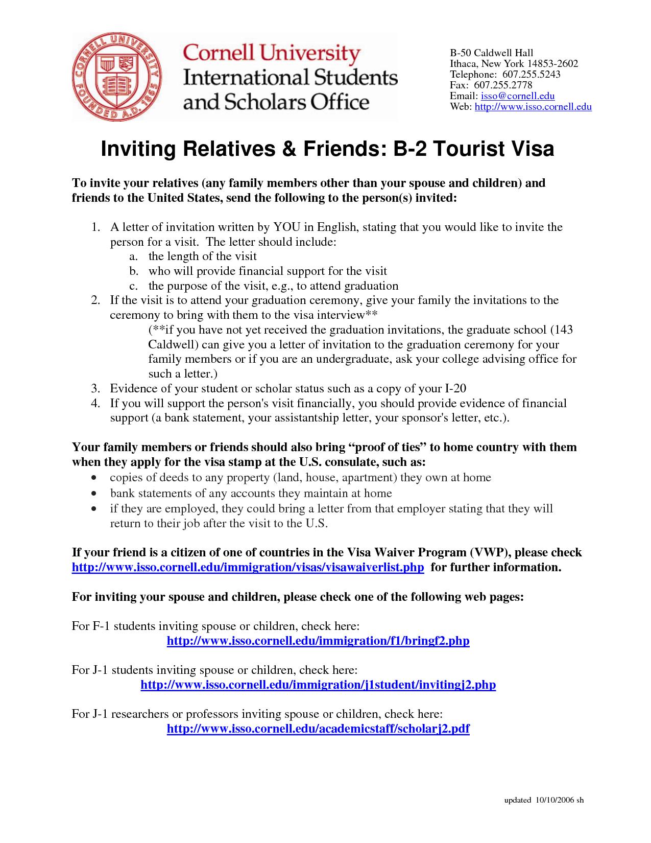 invitation letter tourist visa Lettering, Transition