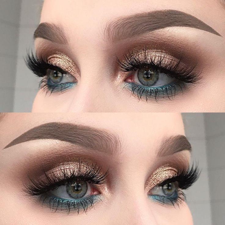 Ideas de maquillaje de ojos: esta foto de Instagram de Helene Sjöstedt 6 … – arriba
