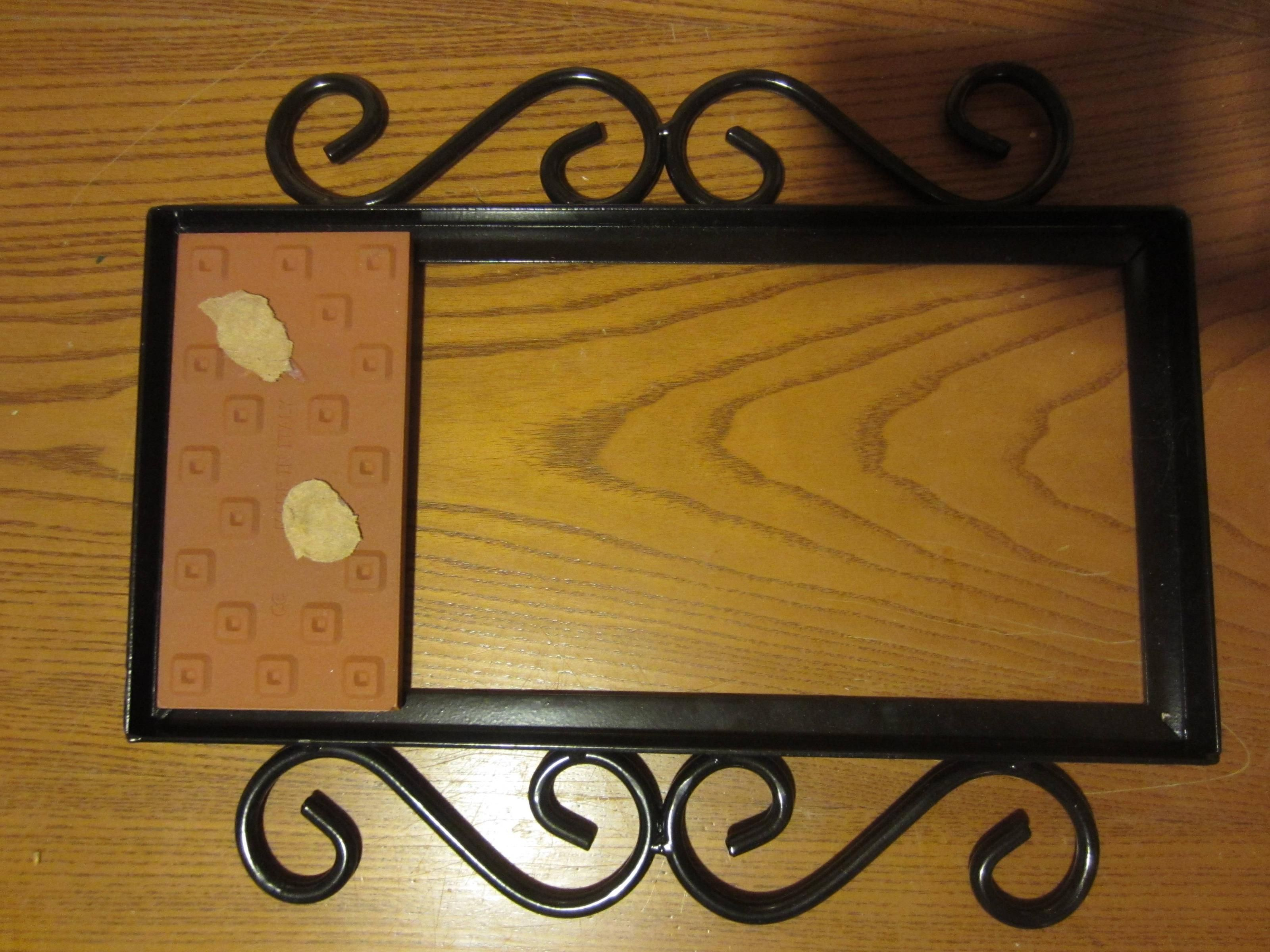 How To Mount Ceramic Tiles In A Wrought Iron Frame Tile House Numbers Ceramic House Numbers Ceramic Tiles