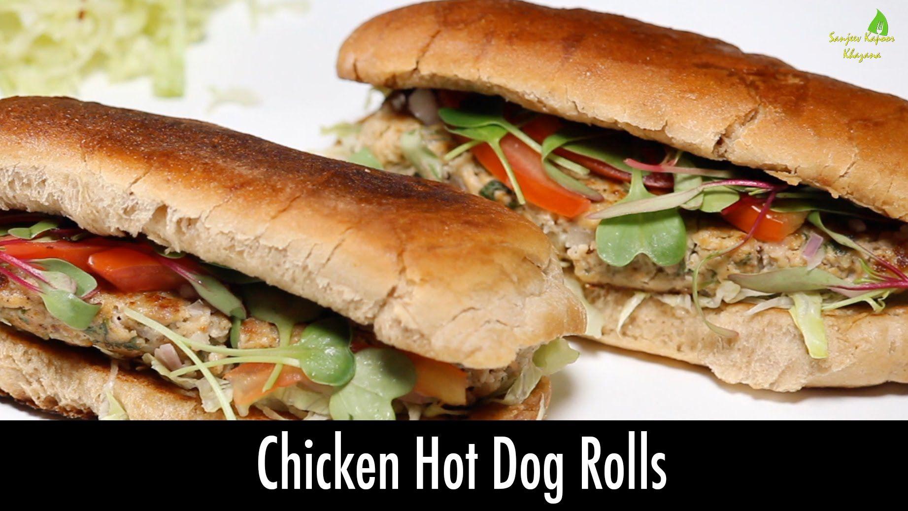 Chicken hotdog rolls sanjeev kapoor khazana breakfast chicken hotdog rolls sanjeev kapoor khazana forumfinder Choice Image