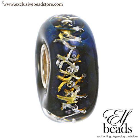 Elfbeads G140120 Ocean Net Glass Bead