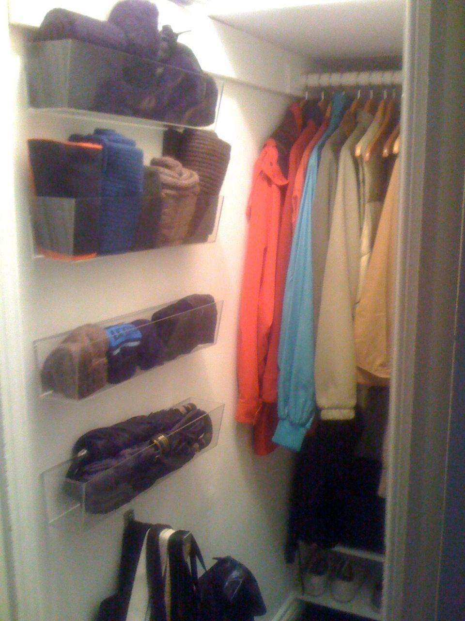 Delicieux Deep Coat Closet: Before + After