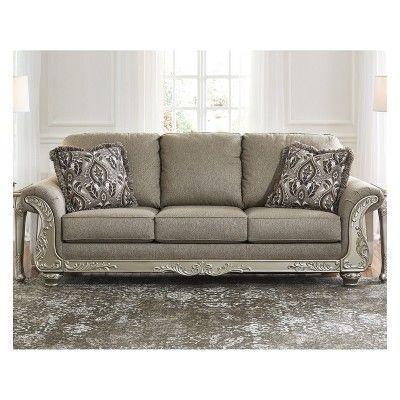 Gailian Sofa Smoke Gray Signature Design By Ashley
