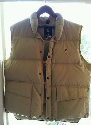 Tan MEDIUM Browning Classic Down Jacket