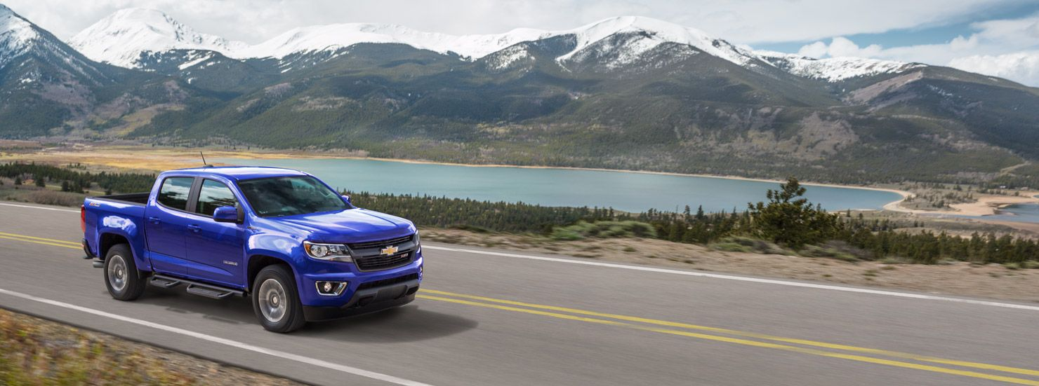 2017 Colorado Midsize Truck Design