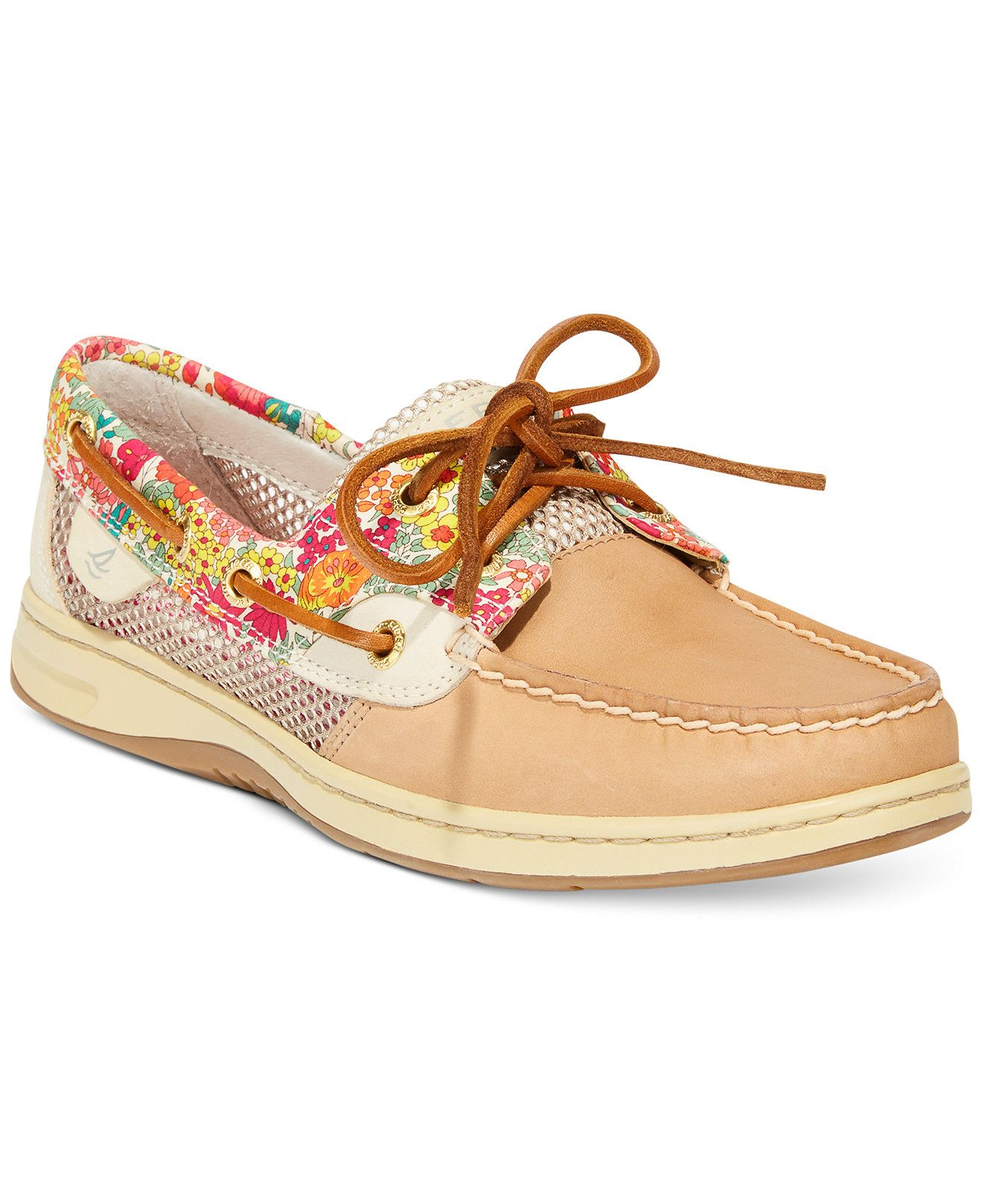 Sperry Women's Bluefish Liberty Floral Print Boat Shoes - Flats - Shoes -  Macy's