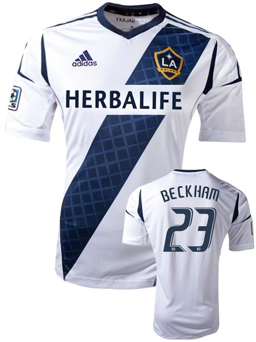 6b039a73d LA Galaxy 2012 New Official Home Replica Jersey - Beckham - football  futebol soccer calcio Los Angeles USA EUA shirt uniform uniforme camisa