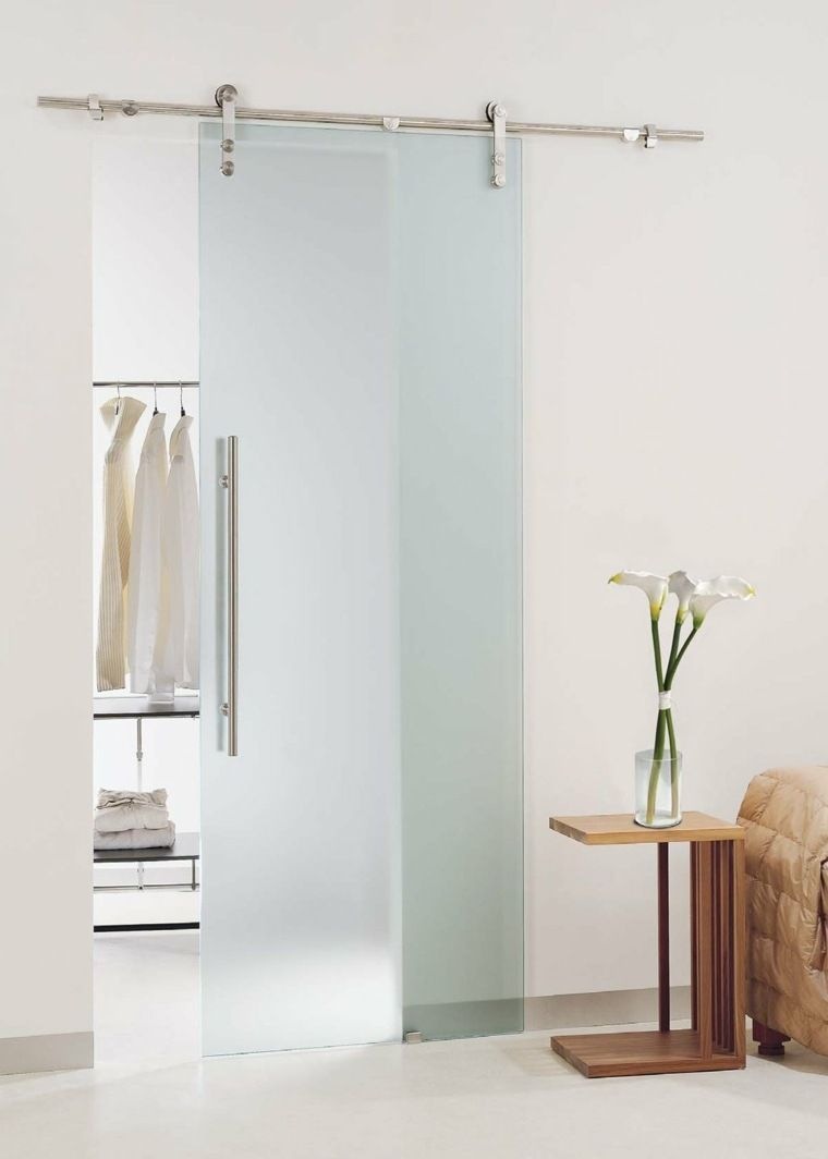 Suspended Sliding Partition A Trend In The Interior Decor Glas