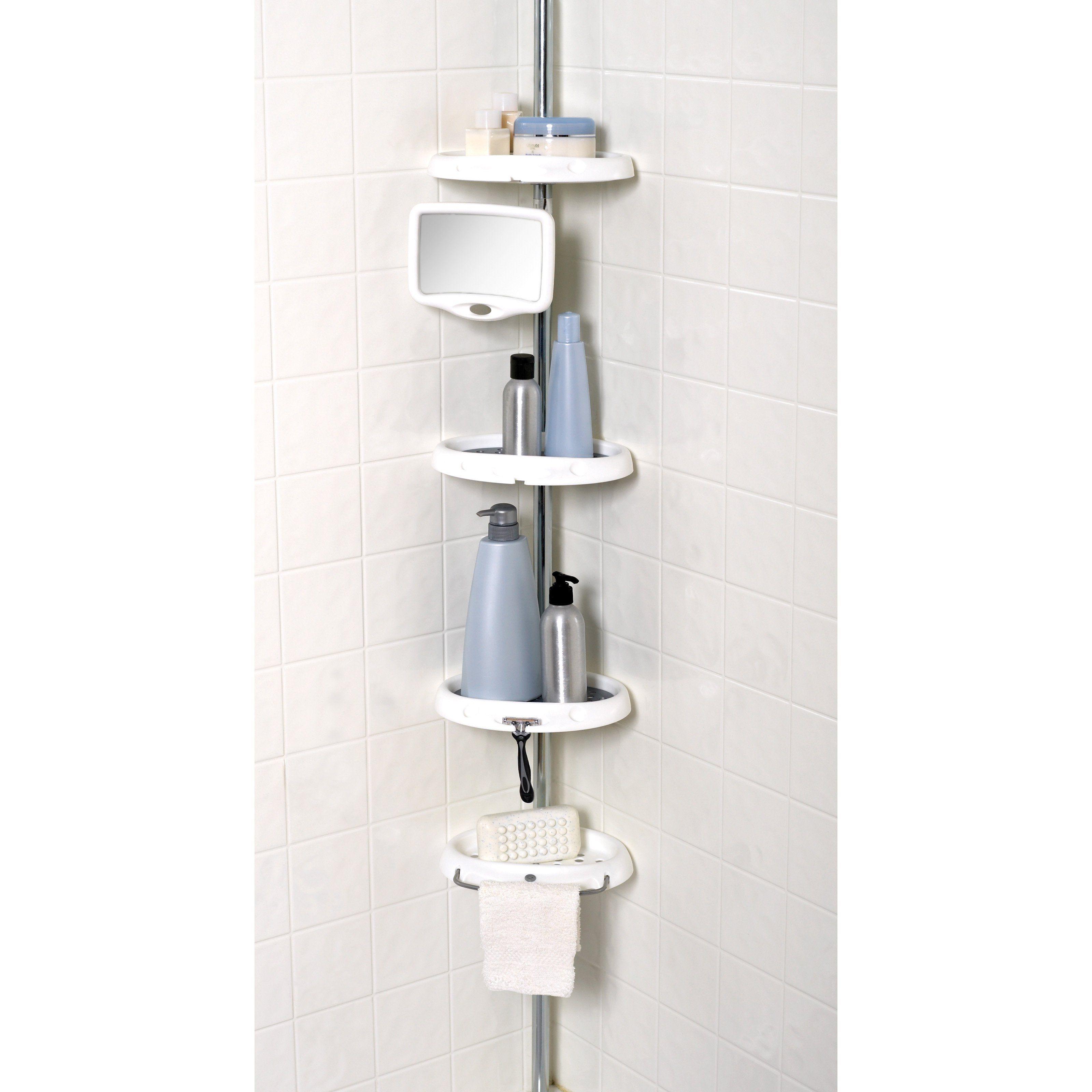 Rubbermaid Corner Shower Caddy | Bathroom Utensils | Pinterest