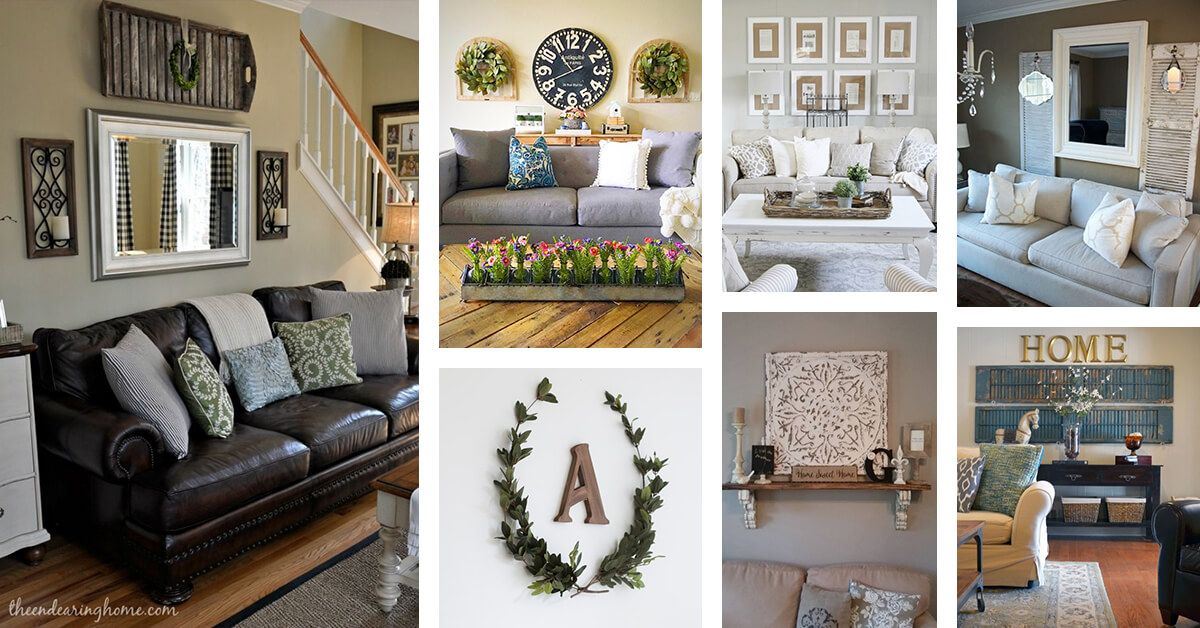 45 Charming Rustic Living Room Wall Decor Ideas For A Fabulous Relaxing Space Wall Decor Living Room Wall Decor Living Room Rustic Living Room Decor Rustic