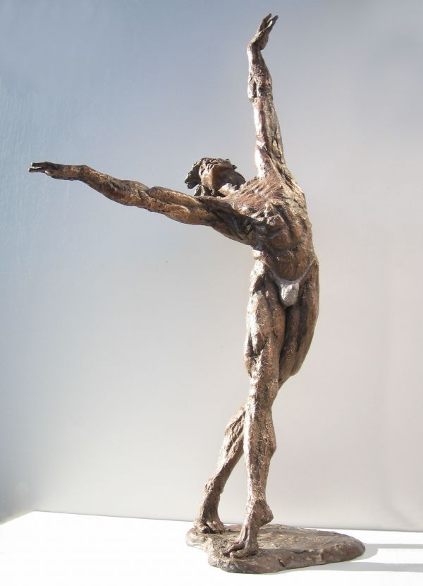 Sculpture: Art of Movement (Nude Male Dance Lifesize