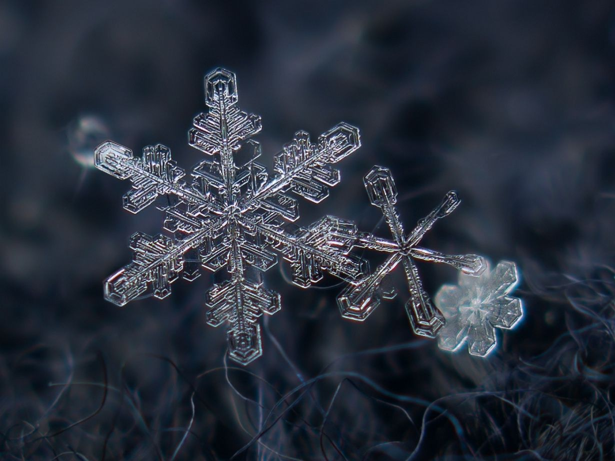 images of snowflakes - HD1024×768