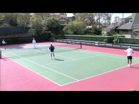 Tennis Doubles When To Poach Youtube Tennis Doubles Tennis Sports