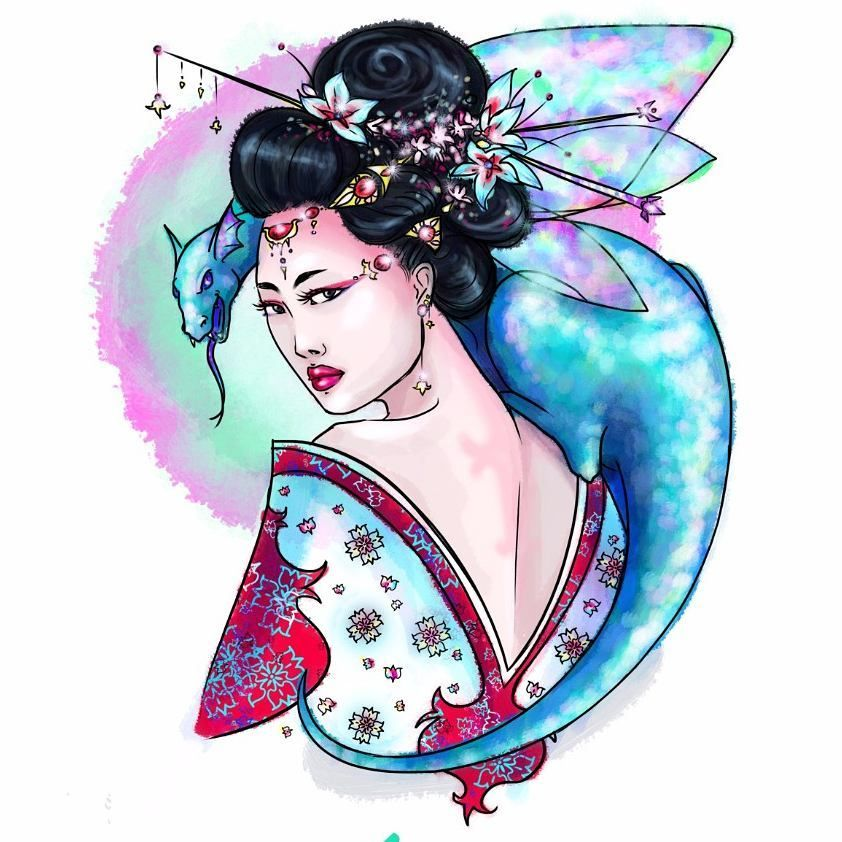 """Mi piace"": 18, commenti: 1 - Daphne Argent - My Art 🌌 (@daphneargent_art) su Instagram: ""Meili = Inverno Brillante #armocromia #armoniadeicolori #harmonyofcolors #originalcharacter #oc…"""