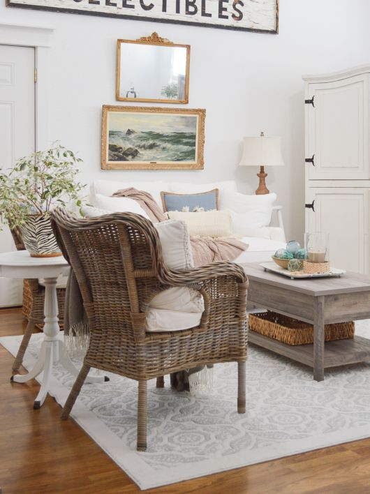 When you're short on cash or you can't find exactly what you want in stores, secondhand furniture can be an economical option for filling your space. Rattan Chairs for Coastal & Beach Style Living | Cottage ...