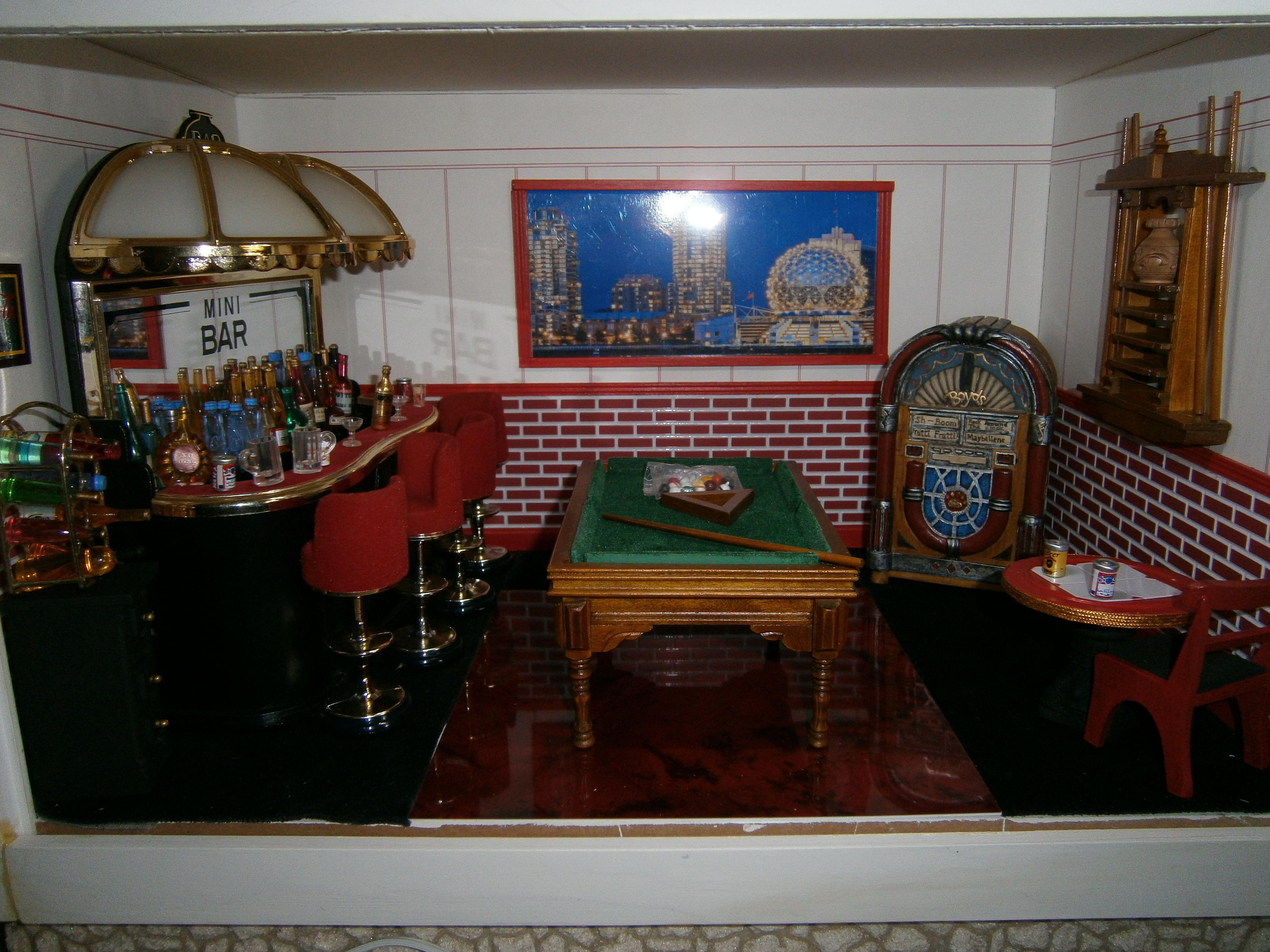 mini bar roombox