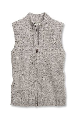 bee5050c0cb Just found this Zip-Front Sweater Vest For Women - Cable-Detail Zip ...