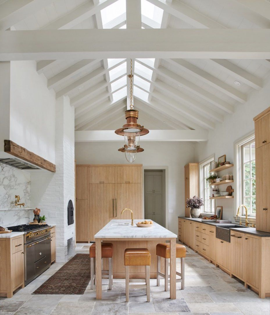 We Ve Rounded Up 17 Kitchen Tile Floor Ideas So Swoon Worthy We Re Willing To Bet They Will Make You W European Kitchen Design House Interior European Kitchens