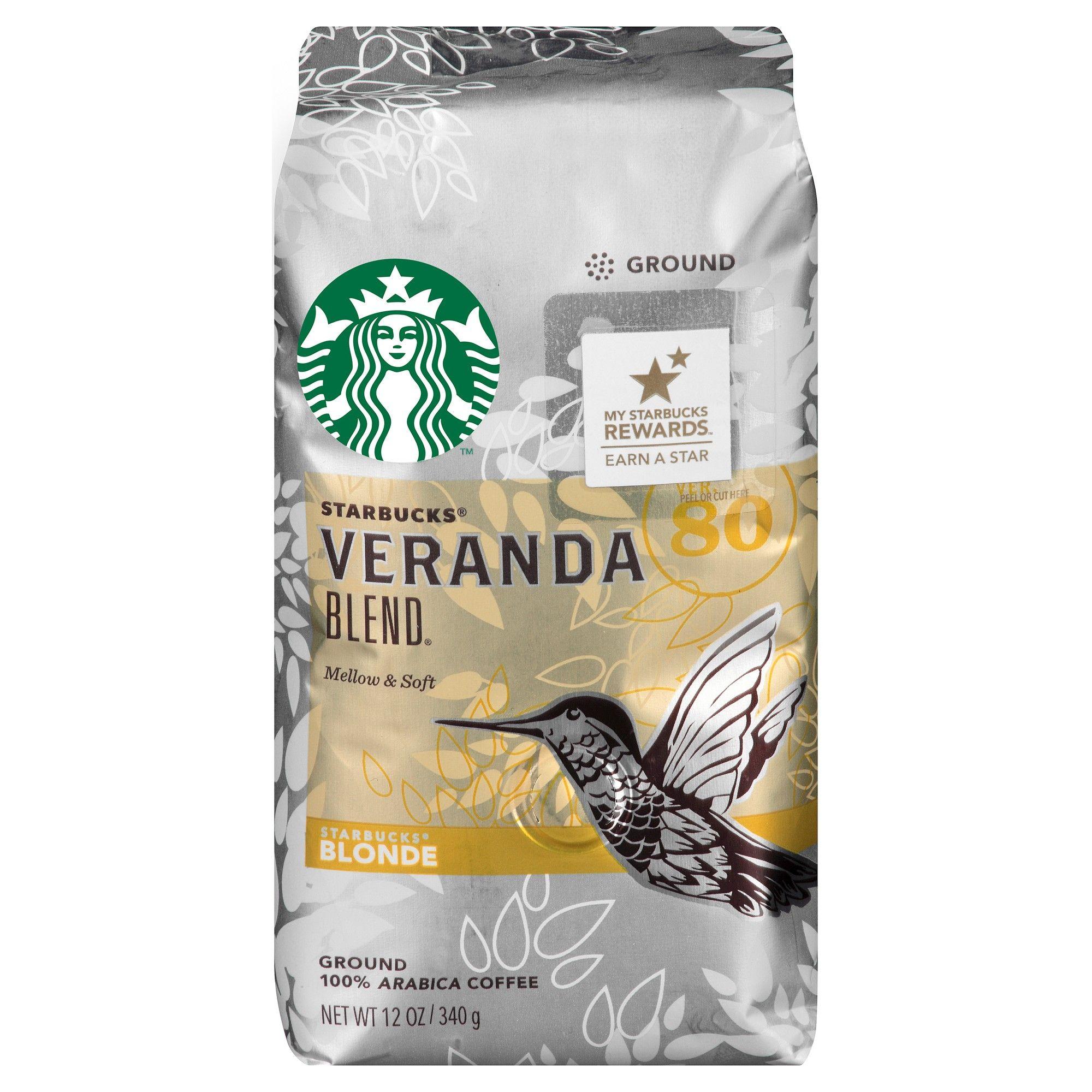 Starbucks Veranda Blend Blonde Ground Coffee 12oz