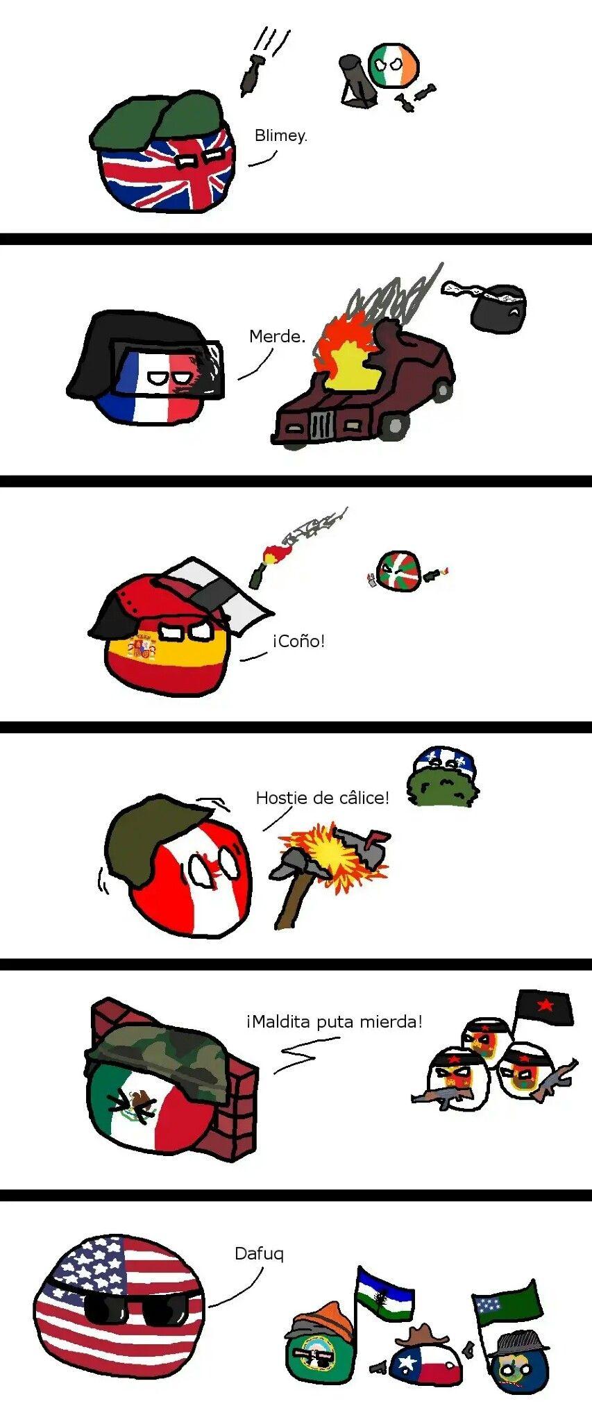 Countryballs comics   Memes   History memes, Funny ...