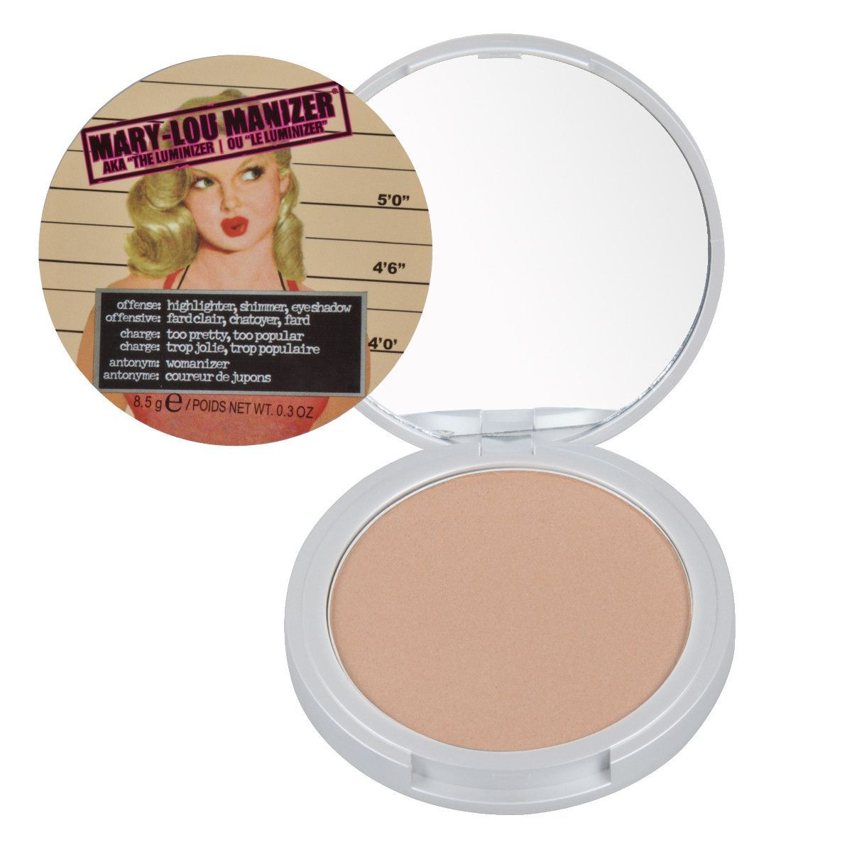 Makeup Powder Palette Manizer Highlight Face Pressed Powder Foundation Palette