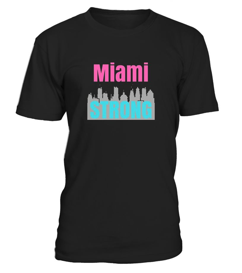 Lets wearer show support and love for the resilient people of Florida especailly south waterfront Florida.   Support Miami and the State of Florida. Show your Florida pride and how strong and resilient the Sunshine State is by ordering this downtown Miami cityscape.