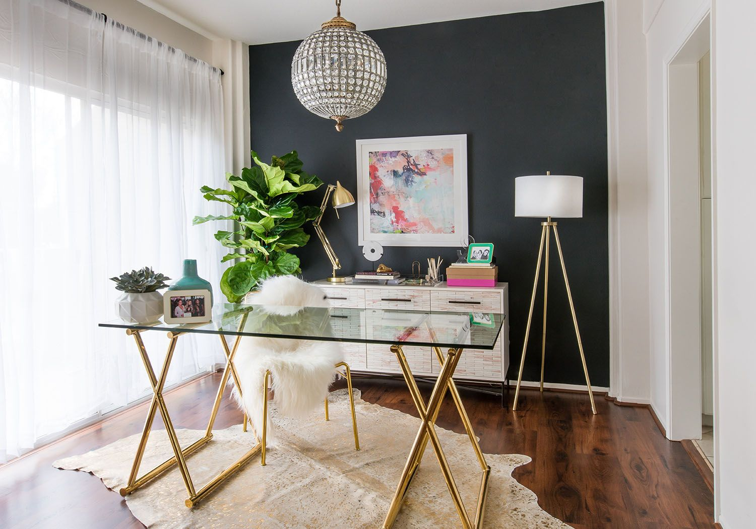 Happy Home Office Ideas: Feng Shui 101: Spacial Secrets To A Happy And Healthy Home