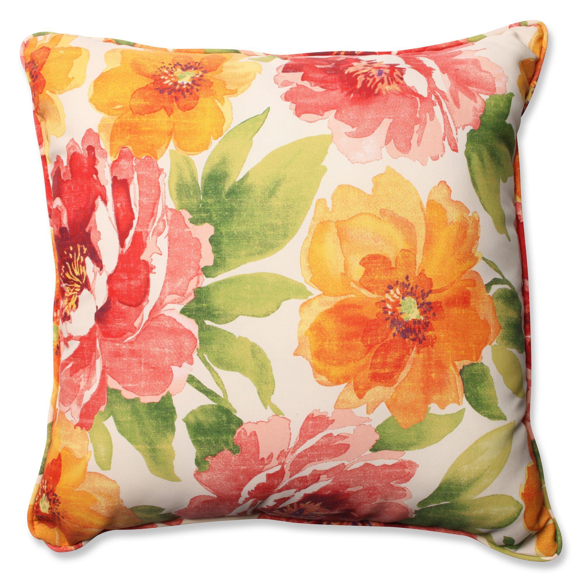 Muree Primrose Indoor/Outdoor Floor Pillow | Estampados | Pinterest ...