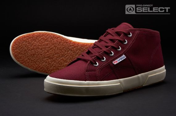 Superga Shoes - 2754-COTU - Men's Shoes - Dark Bordeaux