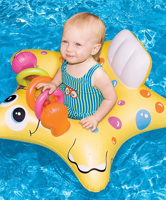 Starfish Baby Seat Float Baby Pool Floats Pool Toys And Floats Baby Float