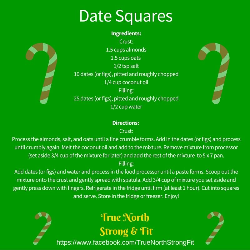 #Beachbodycoach #fit #healthymeals #datesquares #dates #christmas #cleaneating #21df