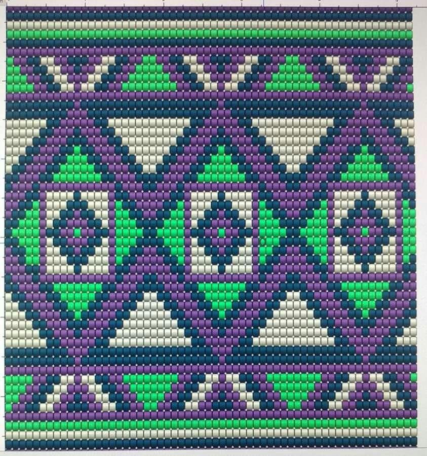 Pin von Ana Milena auf Patrones Wayuu | Pinterest | Tapestry häkeln ...