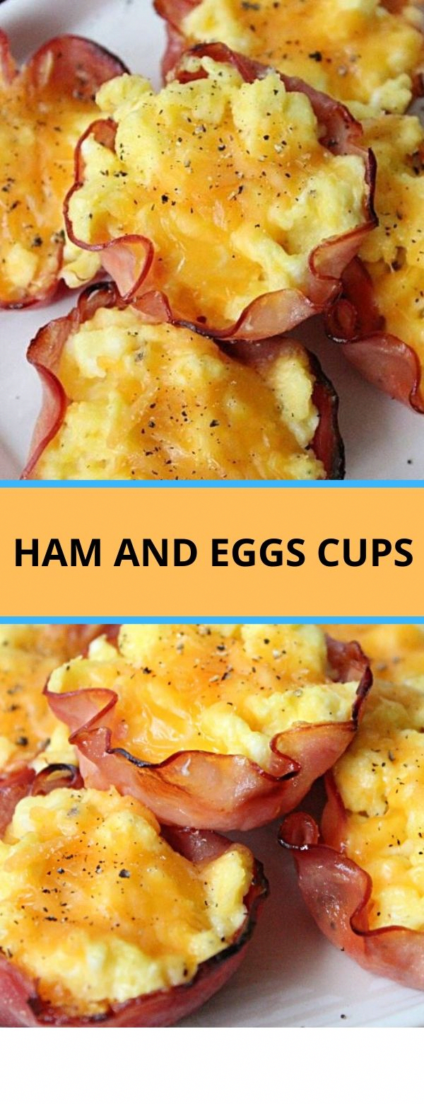 Ham and Eggs Cups #breakfast #ham #eggs #cups - Healthy Meals #HealthyBreakfastFoods