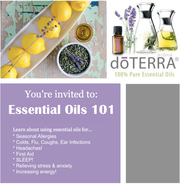 Doterra class invite and this design invitatios ideas can make your