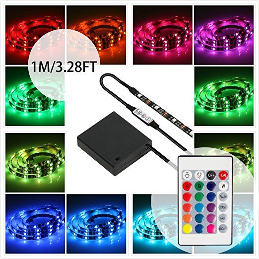 Led Light Strips Battery Powered Fair Battery Powered Led Strip Lights With Remote Control,geekeep 2018