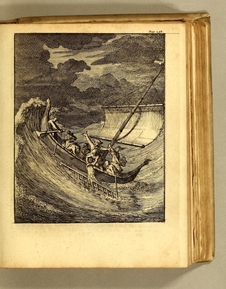 W: Dampier en L: Wafers Reystogten rondom de waereldt; 1717: World voyage and exploration of unknown lands