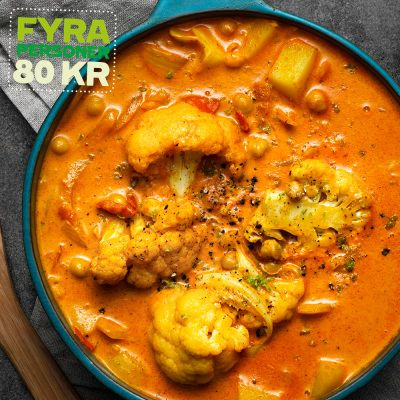 indisk curry recept