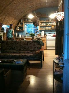 Simple Living: Life in a Quonset Hut