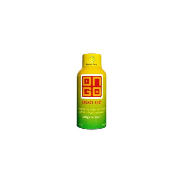 On Go Energy Shot Lemon Lime ❤ liked on Polyvore