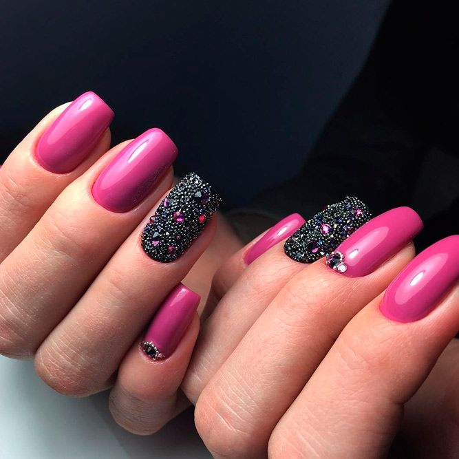 Fantastic Hot Pink Nails to Try | NailDesignsJournal.com