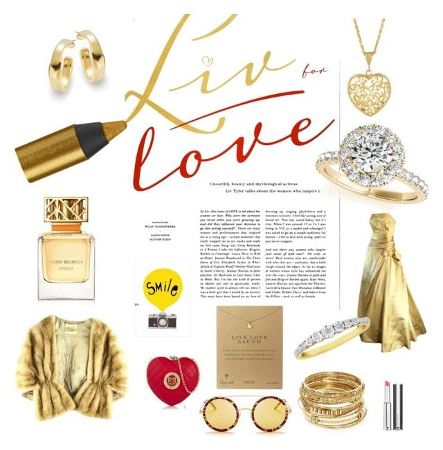 """""""LIV FOR LOVE"""" by colleen-penrywn-clark on Polyvore featuring Givenchy, Urban Decay, Allurez, Wildfox, Tory Burch, Uno de 50, ABS by Allen Schwartz, Love Moschino and Dogeared"""