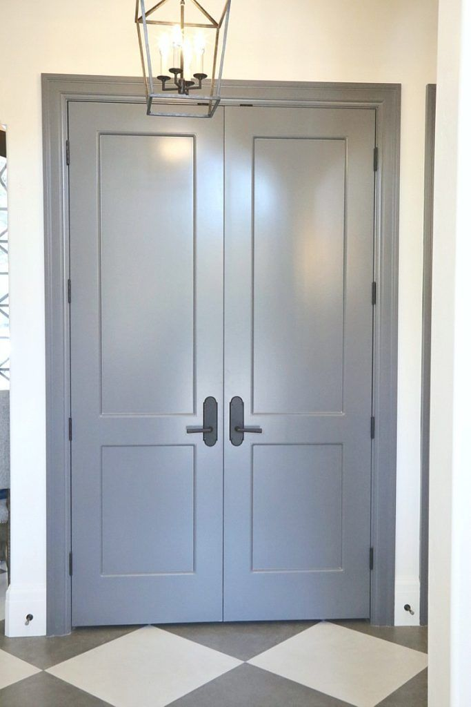 Choosing Interior Door Styles And Paint Colors Trends Pinterest