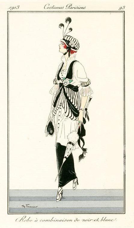 Journal des Dames et des Modes - Costumes Parisiens - 1913