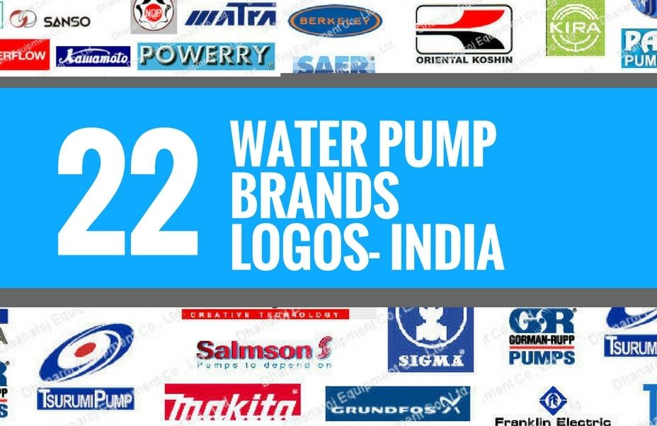 A Creative Logo Is A Core Thing For A Company S Branding Strategy Check 22 Best Water Pump Brands And Logos In India For Your Logos Brand Strategy Water Pumps