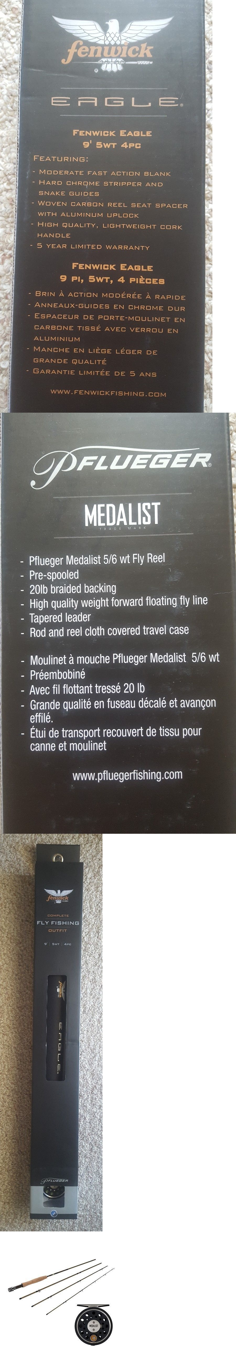 Fly Fishing Combos 33973: New Fly Fishing 9 5W 4-Pc Fenwick Eagle ...