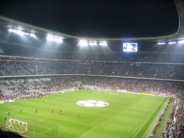 People here are CRAZY about FC Bayern!     #Europe's football clubs