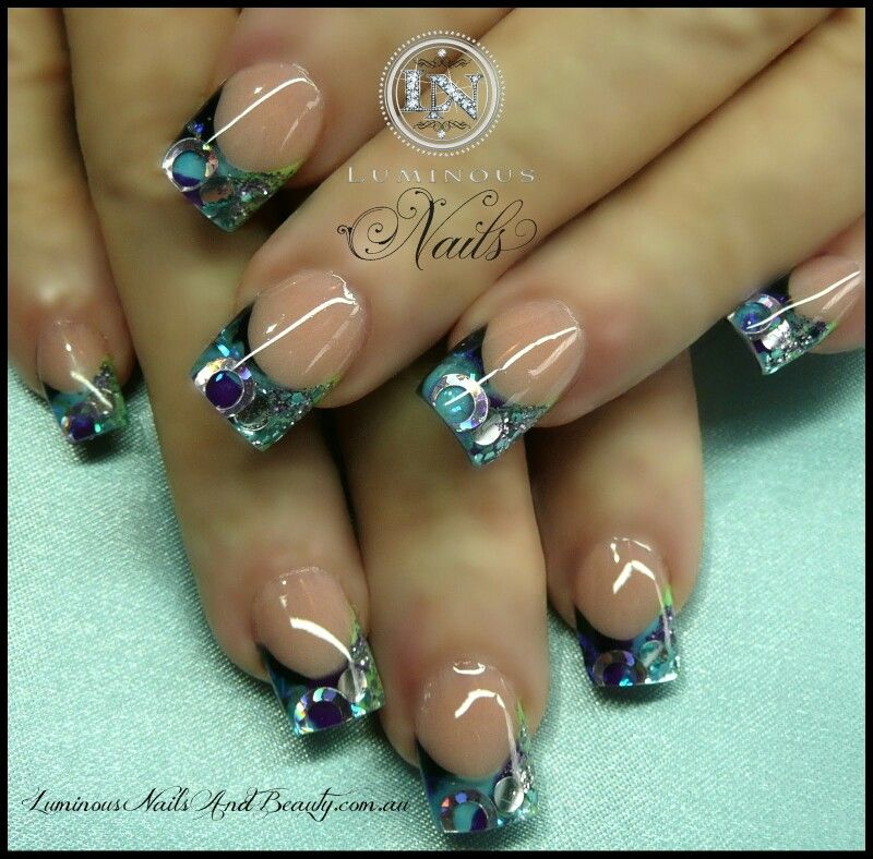Pin by Shannon Forsythe on Nail Designs! Luminous nails
