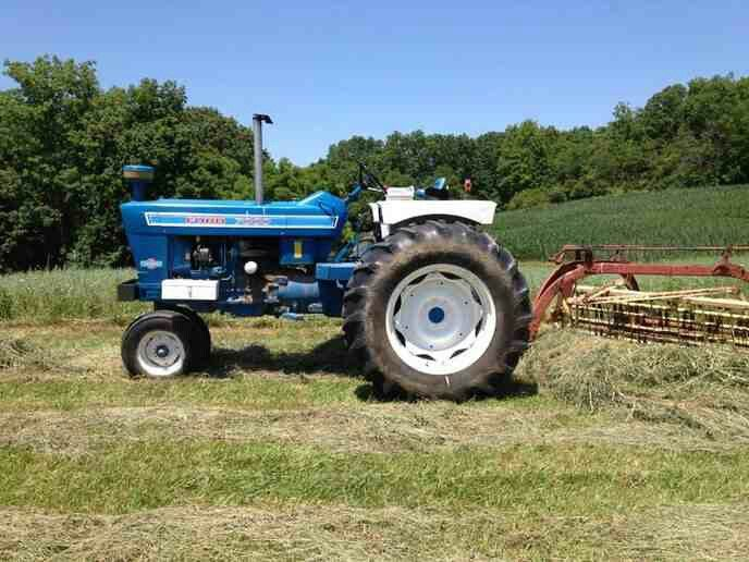 FORD 7000 Row Crop | Ford | Tractors, Ford tractors, Vintage