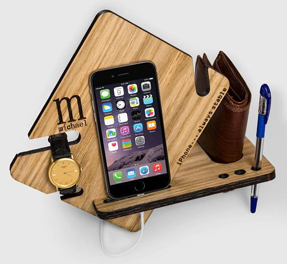 watch and wallet docking station for iphone 6 iphone 7. Black Bedroom Furniture Sets. Home Design Ideas